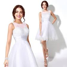 8th grade graduation dresses stores white homecoming dress beaded knee length prom dress 8th