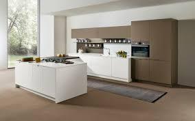 contemporary kitchen laminate island lacquered arena maistri