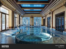 Luxury House Plans With Indoor Pool Interior Design Home With Indoor Pool Luxury Country House Stock