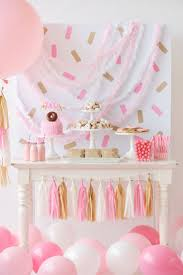 Barbie Themed Baby Shower by Best 25 Pink Party Themes Ideas On Pinterest Pink Party Tables