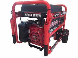 2014 gravely usa gravely 7500 watt portable generator w honda gx
