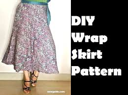 Draped Skirt Tutorial Make A Beautiful Wrap Skirt Diy Pattern U0026 Tutorial Sew Guide