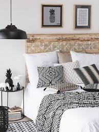 tendance ethnique chic pour cette chambre à coucher decoration