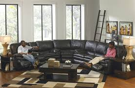 Reclining Leather Sofa And Loveseat Perez 3 Piece Leather Power Reclining Sectional By Catnapper