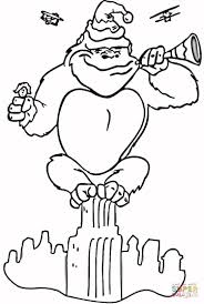 king kong coloring free printable coloring pages