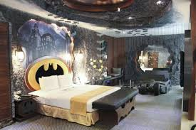 Feiges Interiors by Batman Hotel Room Is Awesome