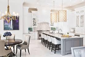 breakfast area scale light fixture chandelier white kitchen with breakfast area