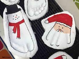 kindergarten gift ideas salt dough footprints and