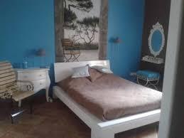 chambre chocolat turquoise maison décoration