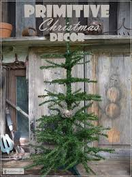 primitive christmas tree primitive christmas decor country primitive decor for a rustic
