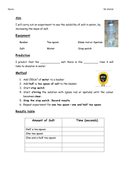 solubility introduction by tayyabwahid teaching resources tes