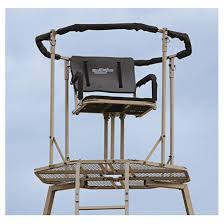 Woodsman Supply Guide Gear 15 U0027 Woodsman Rotating Tripod Deer Stand 177511 Tower