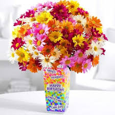 100 images of happy birthday flowers postcard summer