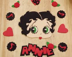 betty boop cake topper betty boop etsy
