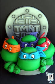 tmnt cake best 25 turtle cake topper ideas on