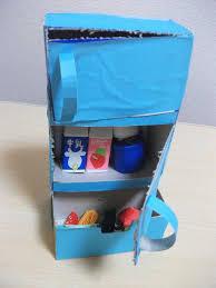 refrigerator tissue box craft preschool education for kids