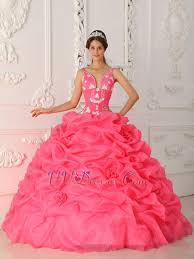 designer ruched ball gown pink quinceanera dress
