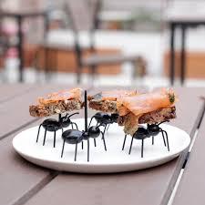 fourmis cuisine piques apéritif fourmis kikkerland absolument design