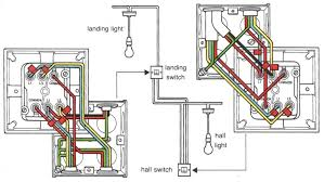 wiring a three gang two way switch within diagram for light