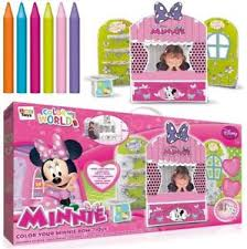 disney minnie mouse colour bow tique girls shop toy