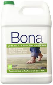 What Should I Use To Clean Laminate Floors Amazon Com Bona Stone Tile And Laminate Floor Cleaner Refill 128