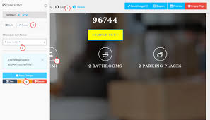 landing page html templates with builder how to edit template and