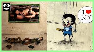 Banksy S Top 10 Most Creative And Controversial Nyc Works - 15 banksy s controversial illustrations that will make you think