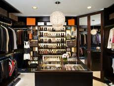 dreamy easy to organize walk in closets hgtv