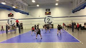 northern lights volleyball mn kaitlyn weimerskirch 2019 libero mn crossfire 16 1 vs northern