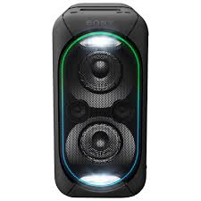 bluetooth party speakers with lights sony gtk xb60 high power portable bluetooth party speaker black