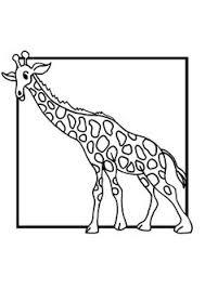 coloriage pour enfants dessin d u0027une girafe naps pinterest