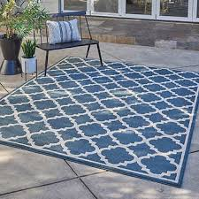 Rug Outdoor Thomasville Veranda Indoor Outdoor Rug Collection Siena Blue