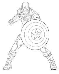 Stunning Decoration Captain America Coloring Pages Coloring Pages Captain America Coloring Page