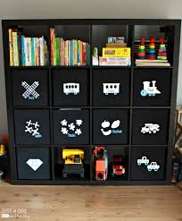 Ikea Kids Storage Boxes A Storage Solution For Big Toys And An Ikea Hack Just A