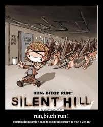 Run Bitch Run Meme - run bitch run desmotivaciones