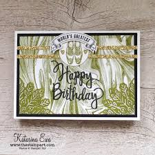 54 marble male birthday card the stamp art