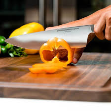 kitchen knives made in usa 8 inch stainless steel chef knife with rosewood handle made in