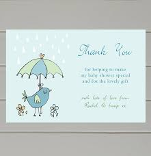 thank you cards baby shower ba shower thank you card personalised ba shower thank you cards
