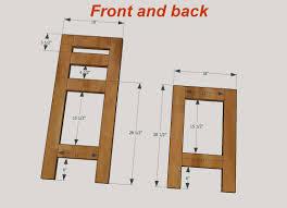 luxury pallet bar stool plans home design pallet bar stool plans s