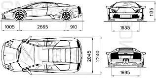 lamborghini gallardo blueprint tutorials3d com blueprints lamborghini murcielago