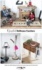 make free dollhouse furniture from wood scraps ebay