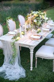 Garden Wedding Reception Decoration Ideas Outdoor Wedding Table Centerpieces Soft Garden Wedding