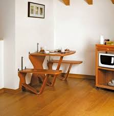 modern kitchen tables dining room with wooden table minimalist