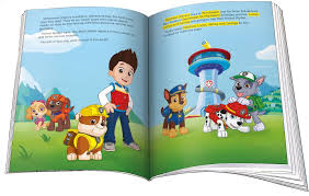 paw patrol pup adventure large softcover