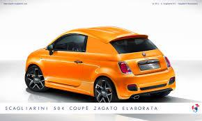 fiat 500 coupe zagato elaborata by scagliarini motorsports