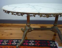 antique marble coffee table timeless vintage table designs