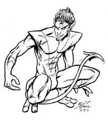 ghost rider coloring pages nightcrawler coloring pages funycoloring