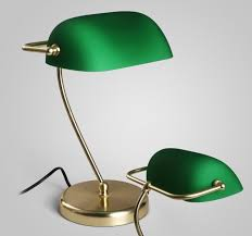 details about bankers lamp office desk lamp green table lamp light