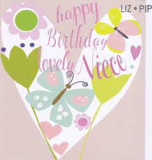 niece birthday cards lovely niece birthday card karenza paperie