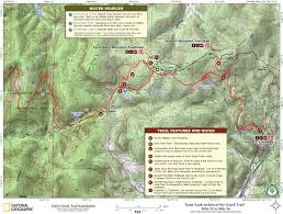 Robbers Cave State Park Map The Ozark Trail In Missouri Taum Sauk Section